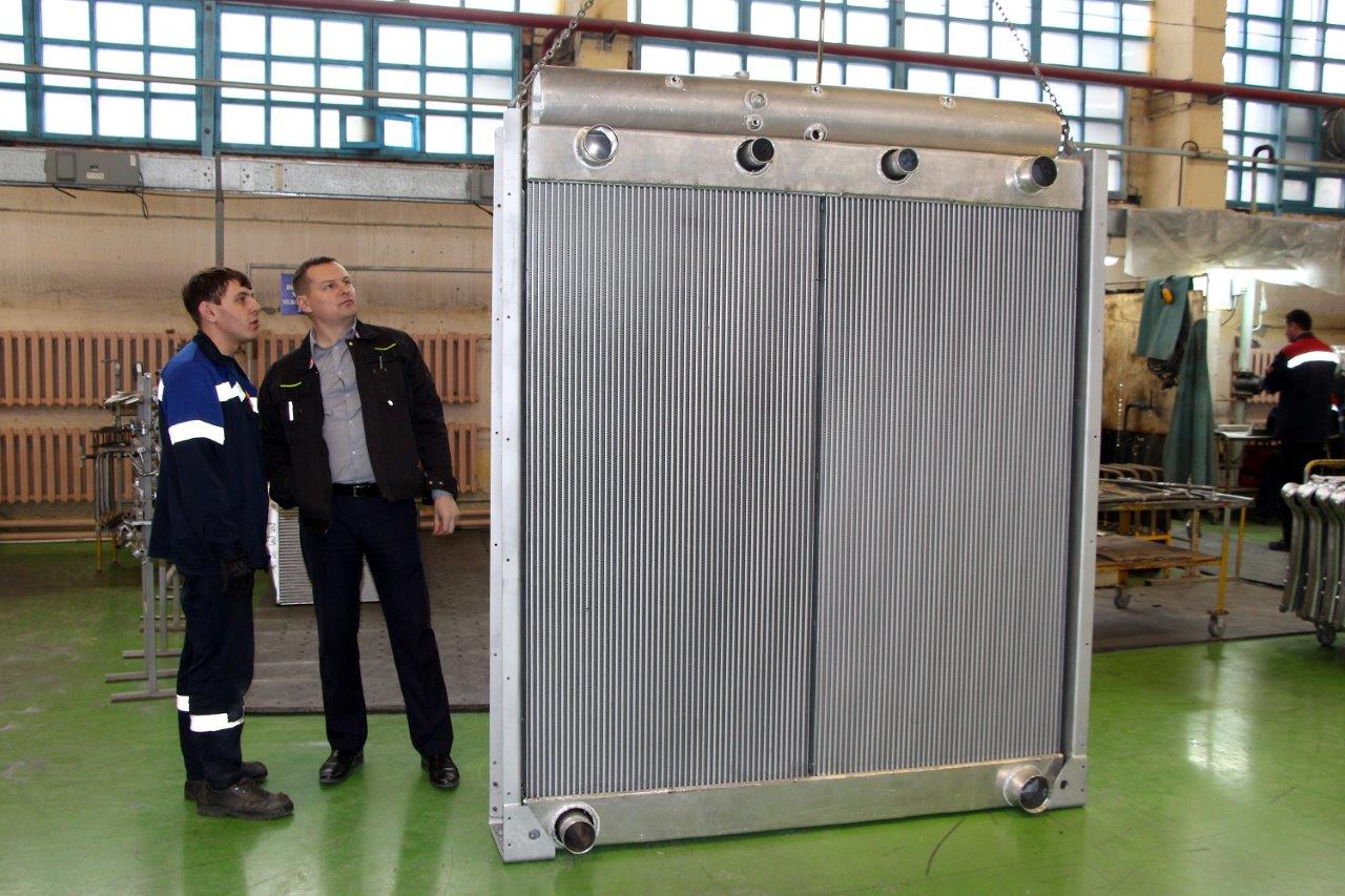 SHAAZ produced an giant-size radiator for its 75th Anniversary